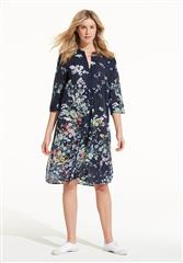 ONESEASON NAVY VENICE PAPY DRESS