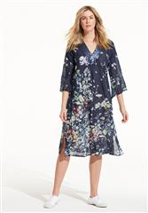 ONESEASON NAVY VENICE GIDGET DRESS