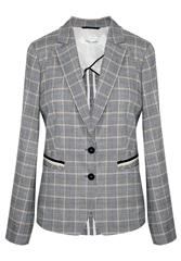 GERRY WEBER INDIGO OFF WHITE PINSTRIPE JACKET