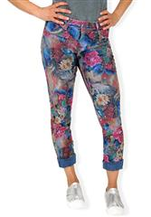 MADE IN ITALY MULTI COLOUR REVERSIBLE JEANS