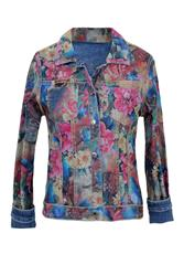MADE IN ITALY MULTI COLOUR REVERSIBLE JACKET
