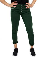 MADE IN ITALY GREEN SEQUENCE DEATIL JEANS