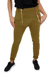 MADE IN ITALY MUSTARD HAREM JEANS