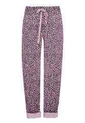 MADE IN ITALY PINK MULTI LEOPARD PRINT TROUSERS