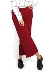 GERRY WEBER MAROON WIDE LEG TROUSERS