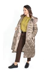 GERRY WEBER TAUPE QUILTED COAT