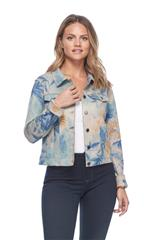 FRENCH DRESSING JEANS BLUE FAUX SEUDE JACKET