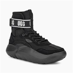 UGG BLACK LA CLOUD HI SNEAKER