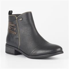 MISS BLACK BLACK CLOVIS BOOT