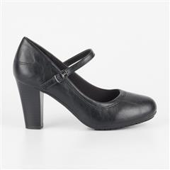 BUTTERFLY FEET BLACK TESSA COURT SHOE