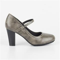 BUTTERFLY FEET GREY TESSA COURT SHOE