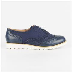 BUTTERFLY FEET NAVY KHALEESI LACE-UP