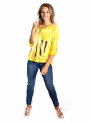 MADE IN ITALY YELLOW TOP