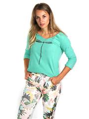 MADE IN ITALY MINT DRAGONFLY TOP