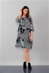 YARRA TRAIL GRAPHIC PRINT DRESS