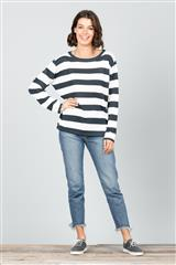 BRAVE + TRUE STRIPE PETRA KNIT