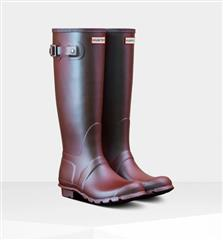 HUNTER BOOTS ORIGINAL TALL NEBULA BLUE BOTTLE