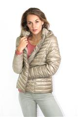 MADE IN ITALY BEIGE PUFFER JACKET