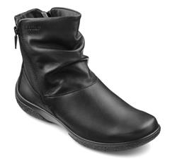 HOTTER BLACK WHISPER LEATHER BOOTS