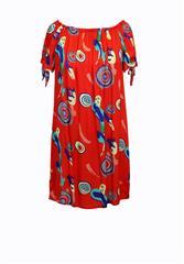 MII PRINTED DRESS - REDMUL