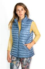 MADE IN ITALY NAVY REVERSIBLE PUFFER GILET