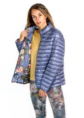 MADE IN ITALY NAVY REVERSIBLE PUFFER JACKET