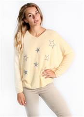 MADE IN ITALY YELLOW STARRY TOP