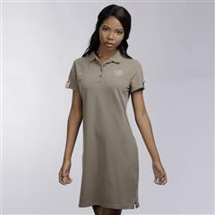 POLO OLIVE MOLLY CREST GOLFER DRESS