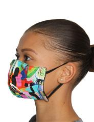 ROSELLA MULTICOLOURED REVERSIBLE MASK