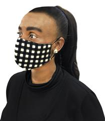 ROSELLA CHECK MASK