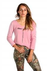 MADE IN ITALY PINK DRAGONFLY TOP