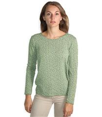 MADE IN ITALY GREEN GOLD DETAIL TOP