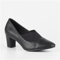 BUTTERFLY FEET BLACK THYME COURT SHOE