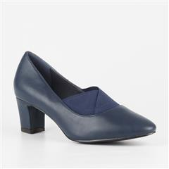 BUTTERFLY FEET NAVY THYME COURT SHOE