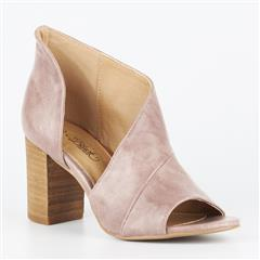 MISS BLACK PINK TINOS CUT OUT BLOCK HEEL