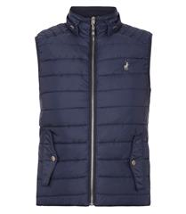 POLO NAVY HEIDI SLEEVELESS PUFFER