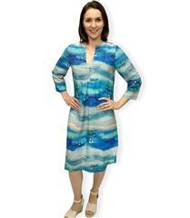 JOLIE BLUE MAUREEN DRESS