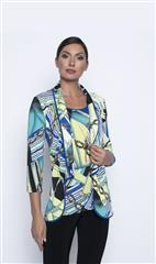 FRANK LYMAN LIME ROYAL CHAIN PRINT JACKET
