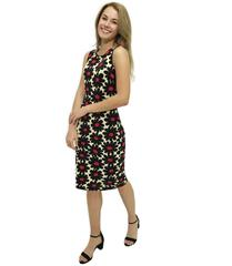 JOLIE RED DAISY BELINDA SHIFT DRESS