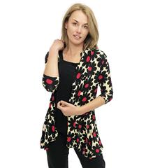 JOLIE RED DAISY SHEILA REGAL JACKET