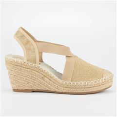 BUTTERFLY FEET GOLD NOA3 ESPADRILLE WEDGE