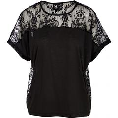 NU BLACK CATH 2- IN-1 T-SHIRT
